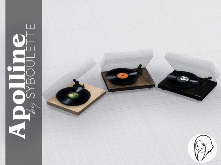 Apolline Set Preview Turntable