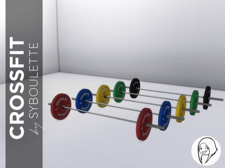 Crossfit Barbell Preview