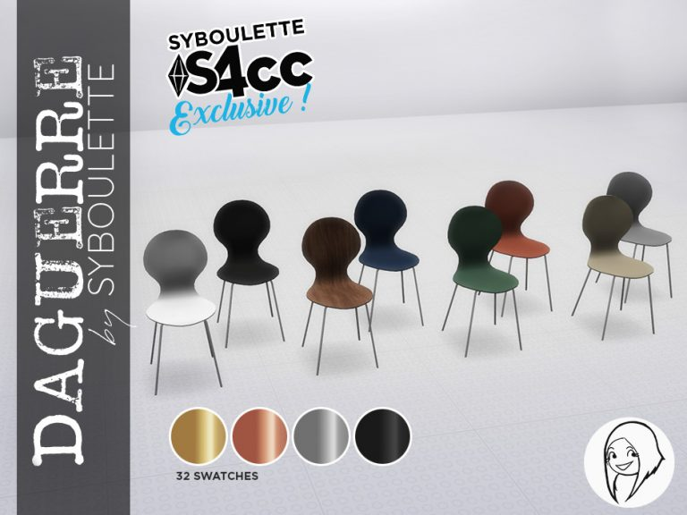 Daguerre Set Preview Chairs exclu