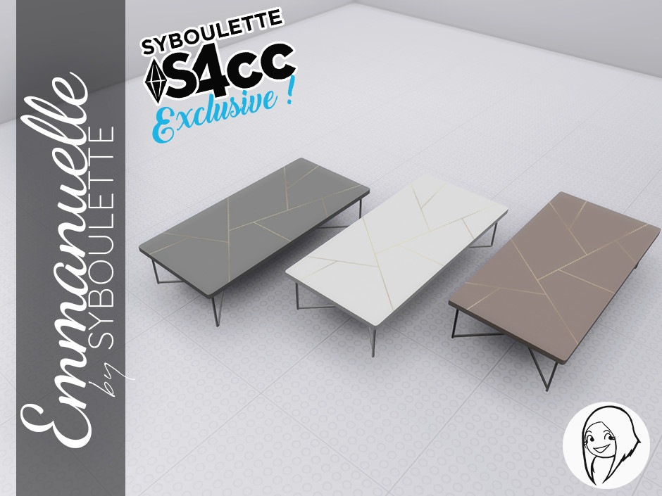 Emmanuelle Set Preview Coffee table 2