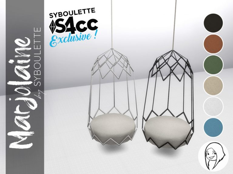 Marjolaine Set Preview exclu swing chair
