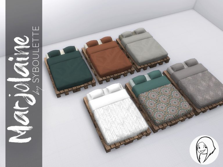 Marjolaine Set Preview Bedroom Double Bed