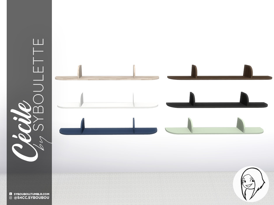 CecileSet Preview shelf