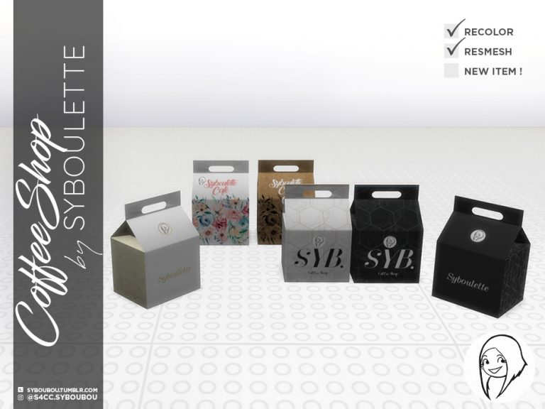 CoffeeShop Set Preview Box
