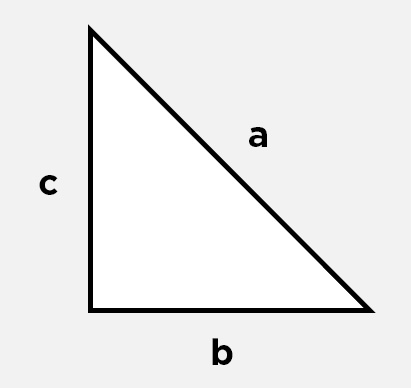 triangle rectangle pythagore 1
