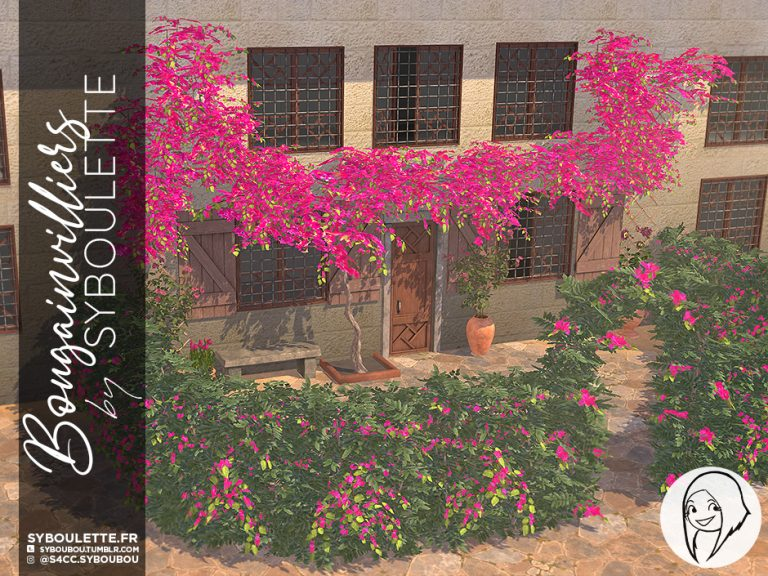 Bougainvilliers set preview1